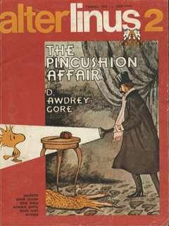 Copertina ALTER LINUS n.14 - FEBBRAIO 1975, MILANO LIBRI EDIZIONI