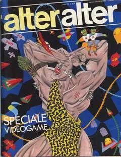 Copertina ALTER LINUS n.140 - 140/141 AGOSTO/SETTEMBRE 1985 - ALTER ALTER, MILANO LIBRI EDIZIONI