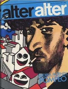 Copertina ALTER LINUS n.142 - OTTOBRE 1985 - ALTER ALTER, MILANO LIBRI EDIZIONI