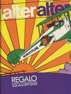 Copertina ALTER LINUS n.144 - DICEMBRE 1985 - ALTER ALTER, MILANO LIBRI EDIZIONI