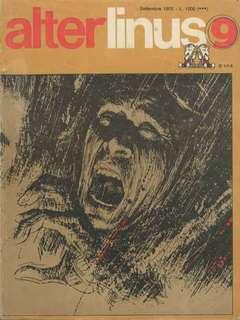 Copertina ALTER LINUS n.21 - SETTEMBRE 1975, MILANO LIBRI EDIZIONI