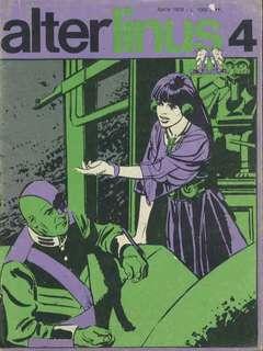 Copertina ALTER LINUS n.28 - APRILE 1976, MILANO LIBRI EDIZIONI