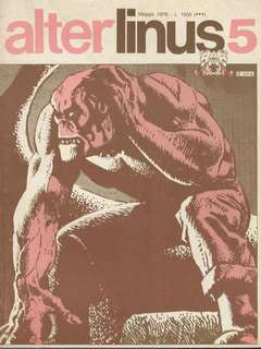 Copertina ALTER LINUS n.29 - MAGGIO 1976, MILANO LIBRI EDIZIONI