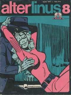 Copertina ALTER LINUS n.32 - AGOSTO 1976, MILANO LIBRI EDIZIONI
