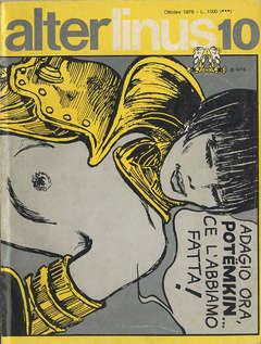 Copertina ALTER LINUS n.34 - OTTOBRE 1976, MILANO LIBRI EDIZIONI