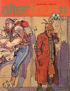 Copertina ALTER LINUS n.35 - NOVEMBRE 1976, MILANO LIBRI EDIZIONI