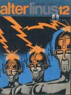 Copertina ALTER LINUS n.36 - DICEMBRE 1976, MILANO LIBRI EDIZIONI