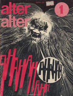 Copertina ALTER LINUS n.37 - GENNAIO 1977 - ALTER ALTER, MILANO LIBRI EDIZIONI