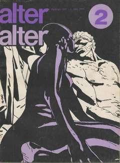 Copertina ALTER LINUS n.38 - FEBBRAIO 1977 - ALTER ALTER, MILANO LIBRI EDIZIONI