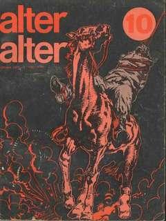 Copertina ALTER LINUS n.46 - OTTOBRE 1977 - ALTER ALTER, MILANO LIBRI EDIZIONI