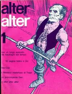 Copertina ALTER LINUS n.49 - GENNAIO 1978 - ALTER ALTER, MILANO LIBRI EDIZIONI