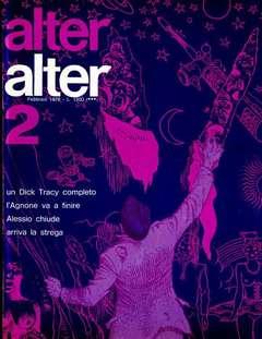 Copertina ALTER LINUS n.50 - FEBBRAIO 1978 - ALTER ALTER, MILANO LIBRI EDIZIONI