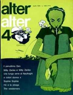 Copertina ALTER LINUS n.52 - APRILE 1978 - ALTER ALTER, MILANO LIBRI EDIZIONI