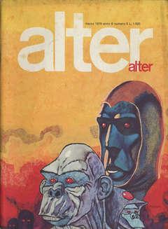 Copertina ALTER LINUS n.63 - MARZO 1979 - ALTER ALTER, MILANO LIBRI EDIZIONI
