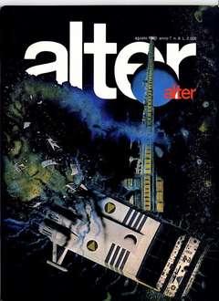 Copertina ALTER LINUS n.80 - AGOSTO 1980 - ALTER ALTER, MILANO LIBRI EDIZIONI