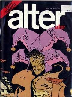 Copertina ALTER LINUS n.88 - APRILE 1981 - ALTER ALTER, MILANO LIBRI EDIZIONI