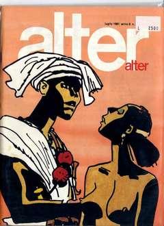 Copertina ALTER LINUS n.91 - LUGLIO 1981 - ALTER ALTER, MILANO LIBRI EDIZIONI