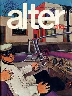 Copertina ALTER LINUS n.92 - AGOSTO 1981 - ALTER ALTER, MILANO LIBRI EDIZIONI