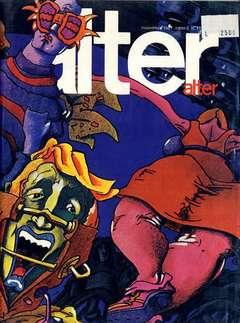 Copertina ALTER LINUS n.95 - NOVEMBRE 1981 - ALTER ALTER, MILANO LIBRI EDIZIONI