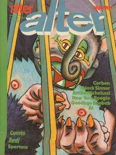 Copertina ALTER LINUS n.98 - FEBBRAIO 1982 - ALTER ALTER, MILANO LIBRI EDIZIONI