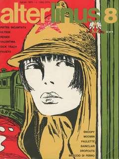Copertina ALTER LINUS n.8 - AGOSTO 1974, MILANO LIBRI EDIZIONI