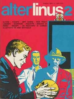 Copertina ALTER LINUS n.2 - FEBBRAIO 1974, MILANO LIBRI EDIZIONI