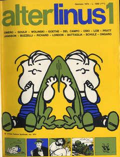 Copertina ALTER LINUS n.1 - GENNAIO 1974, MILANO LIBRI EDIZIONI