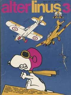 Copertina ALTER LINUS n.3 - MARZO 1974, MILANO LIBRI EDIZIONI