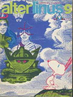 Copertina ALTER LINUS n.9 - SETTEMBRE 1974, MILANO LIBRI EDIZIONI