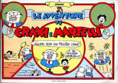 Copertina AVVENTURE DI CRAXI E MARTELLI n. - AVVENTURE DI CRAXI E MARTELLI, MILANO LIBRI EDIZIONI
