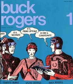 Copertina BUCK ROGERS n.1 - BUCK ROGERS                  1, MILANO LIBRI EDIZIONI