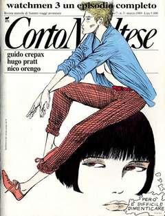 Copertina CORTO MALTESE RIVISTA n.66 - ANNO 1989 N.3, MILANO LIBRI EDIZIONI