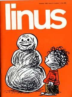 Copertina LINUS n.10 - 1966 ANNO 2 - Nø10, MILANO LIBRI EDIZIONI