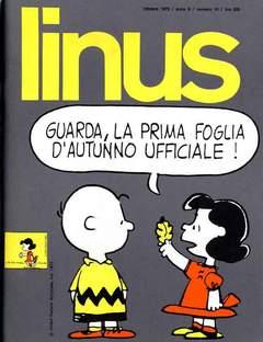 Copertina LINUS n.103 - 1973 ANNO 9 - Nø10, MILANO LIBRI EDIZIONI