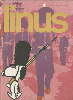 Copertina LINUS n.118 - 1975 ANNO 11 - Nø 1, MILANO LIBRI EDIZIONI