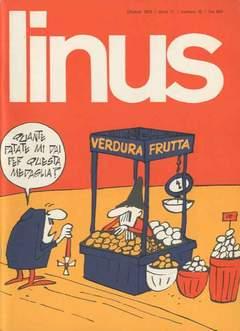Copertina LINUS n.127 - 1975 ANNO 11 - Nø10, MILANO LIBRI EDIZIONI