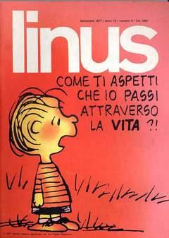 Copertina LINUS n.150 - 1977 ANNO 13 - Nø 9, MILANO LIBRI EDIZIONI