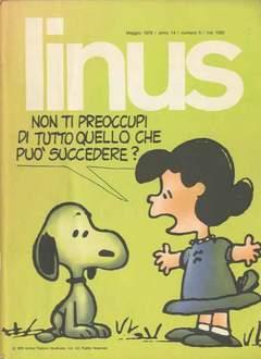 Copertina LINUS n.158 - 1978 ANNO 14 - Nø 5, MILANO LIBRI EDIZIONI