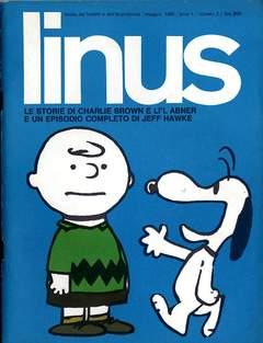 Copertina LINUS n.2 - 1965 ANNO 1 - nø 2, MILANO LIBRI EDIZIONI