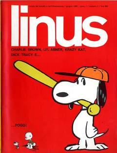 Copertina LINUS n.3 - 1965 ANNO 1 - nø 3, MILANO LIBRI EDIZIONI