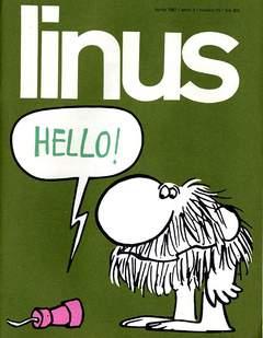 Copertina LINUS n.25 - 1967 ANNO 3 - Nø25, MILANO LIBRI EDIZIONI