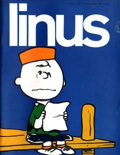 Copertina LINUS n.29 - 1967 ANNO 3 - Nø29, MILANO LIBRI EDIZIONI