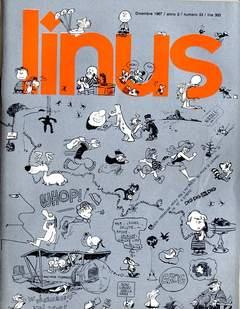 Copertina LINUS n.33 - 1967 ANNO 3 - Nø33, MILANO LIBRI EDIZIONI