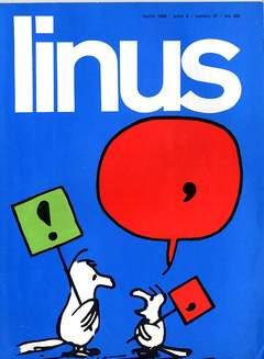 Copertina LINUS n.37 - 1968 ANNO 4 - Nø37, MILANO LIBRI EDIZIONI