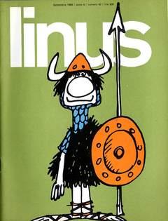 Copertina LINUS n.42 - 1968 ANNO 4 - Nø42, MILANO LIBRI EDIZIONI