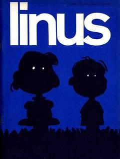 Copertina LINUS n.77 - 1971 ANNO 7 - Nø 8, MILANO LIBRI EDIZIONI