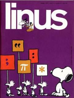 Copertina LINUS n.86 - 1972 ANNO 8 - Nø 5, MILANO LIBRI EDIZIONI