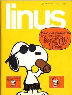 Copertina LINUS n.88 - 1972 ANNO 8 - Nø 7, MILANO LIBRI EDIZIONI