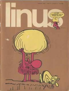 Copertina LINUS n.95 - 1973 ANNO 9 - Nø 2, MILANO LIBRI EDIZIONI