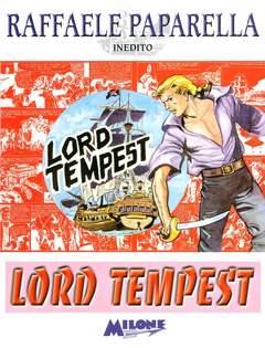 Copertina LORD TEMPEST PAPARELLA INEDITO n. - LORD TEMPEST, MILONE EDITORE